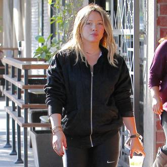 Hilary Duff always has a peanut butter RxBar in her gym bag