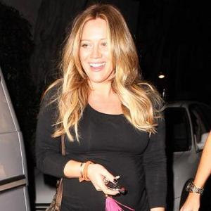 Hilary Duff In Awe Of Baby