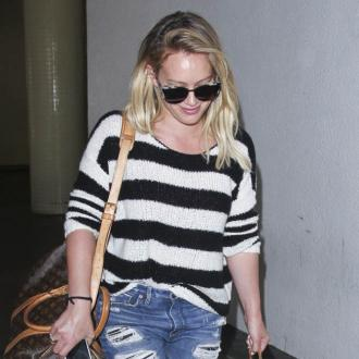Hilary Duff over being pregnant