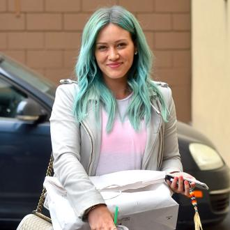 Hilary Duff Gets Beauty Advice From Son
