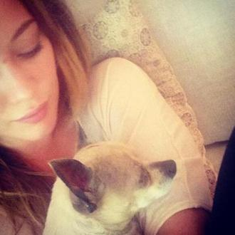 Hilary Duff's Dog Dies
