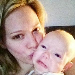 Hilary Duff: Luca Looks Cute When He's Mad