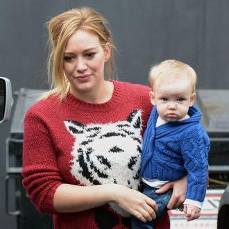 Hilary Duff Exhausted By Baby