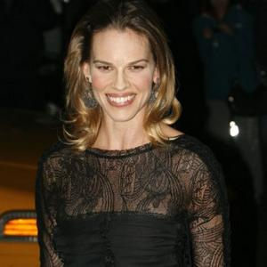 Hilary Swank Loses Luggage In Dallas