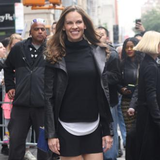 Hilary Swank 'excited' about women 'uniting'