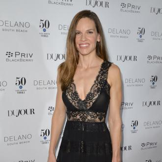 Hilary Swank was happy to take career break