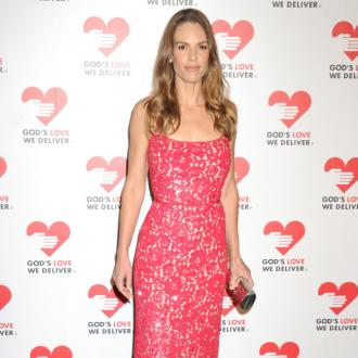 Pet rescuer Hilary Swank