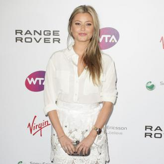 Holly Valance's wedding dress inspired by nature