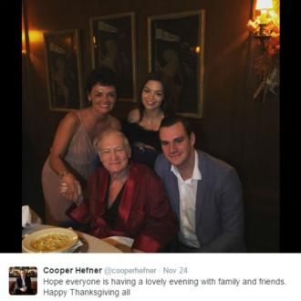 Hugh Hefner returns to Twitter