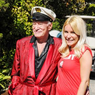 Hugh Hefner's widow is 'ready to move on'