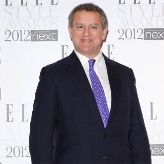 Hugh Bonneville Like A Kid At Christmas