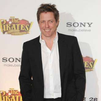 Hugh Grant says fatherhood is chaos