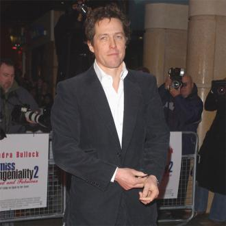 Hugh Grant Has Third Child