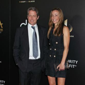 Hugh Grant ties the knot