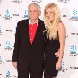 Hugh Hefner Doesn't Think Crystal Faked Feelings