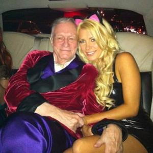 Hugh Hefner's Sexy Start With Crystal