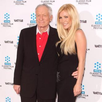 Crystal and Hugh Hefner 'happier than ever'