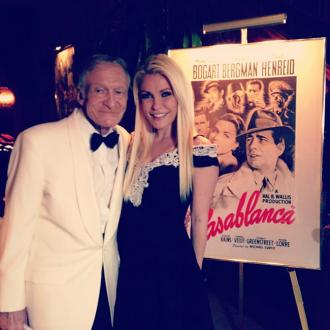 Hugh Hefner has Casablanca birthday