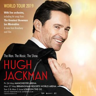 Hugh Jackman announces first world tour