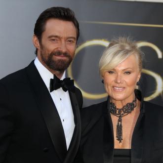 Hugh Jackman's Wife Slams 'Lucky' Tag