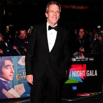 Hugh Laurie doesn't enjoy walking the red carpet