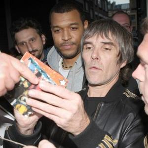 Ian Brown Caught Speeding