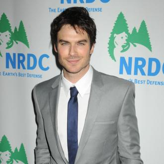 Ian Somerhalder Gets 'Fired Up' About Healthy Eating