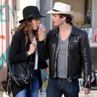 Ian Somerhalder 'fell in love with Nikki Reed straightaway'
