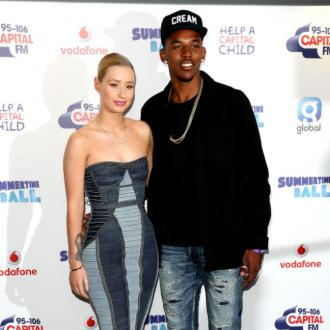 Iggy Azalea burnt ex-fiance Nick Young's clothes on camera