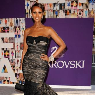 Iman thinks big gowns overwhelm her 'Somali body'