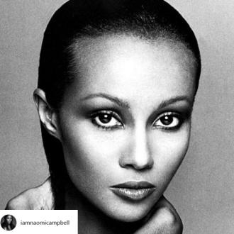 Naomi Campbell pays tribute to Iman on her birthday