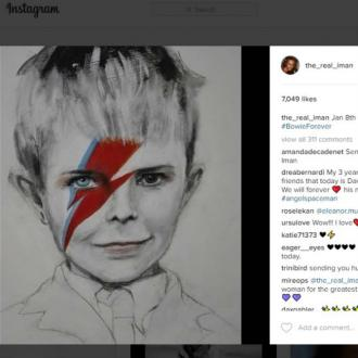 Iamn's tribute to David Bowie