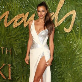 Irina Shayk favours clean skin over makeup