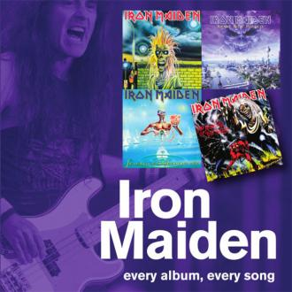 Story behind all Iron Maiden's songs revealed in new book