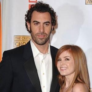Isla Fisher Tests Comedy On Cohen