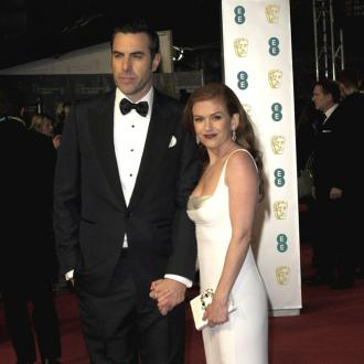 Isla Fisher and Sacha Baron Cohen's clown school bond