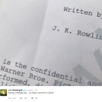 J.K. Rowling's Fantastic tease for magical sequel