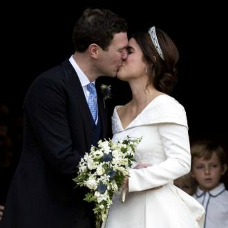 Princess Eugenie And Jack Brooksbank Share First Kiss