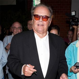 Jack Nicholson celebrates Elizabeth Taylor's birthday