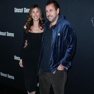 Adam Sandler's wife encouraged him to take on Uncut Gems role