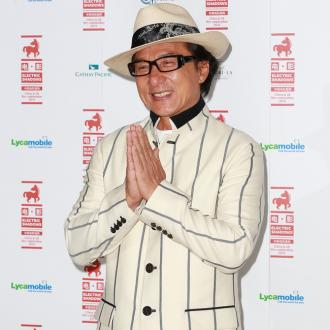 Jackie Chan spent 45 minutes hanging from a helicopter