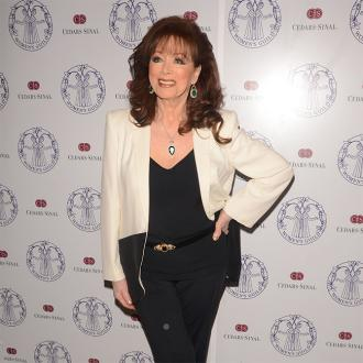 Jackie Collins planned funeral party