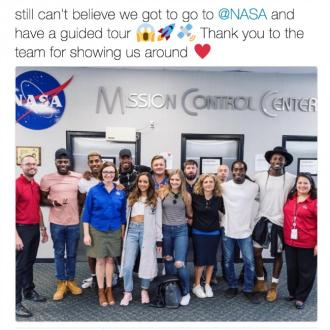 Jade Thirlwall Goes On Nasa Tour