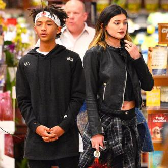 Kylie Jenner Makes Out With Jaden Smith