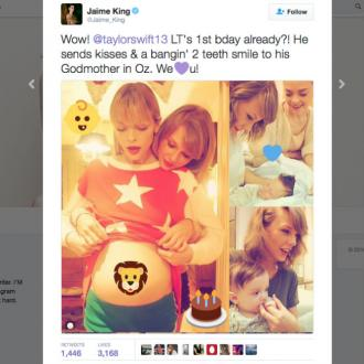 Jaime King tweets Taylor Swift a sweet pic of baby Leo