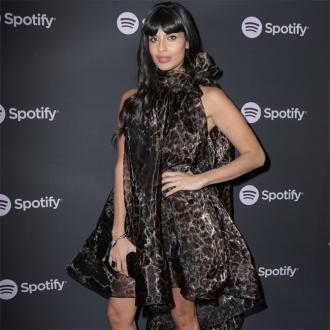 Jameela Jamil checks under bed for monsters