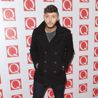 James Arthur has regular chats with Scherzinger