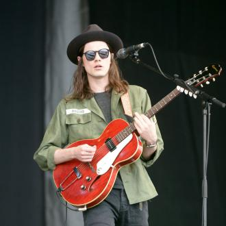 James Bay is terrified of losing his hat on stage