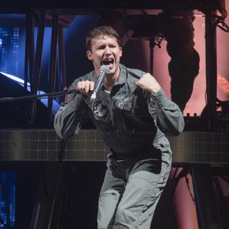 James Blunt got fed up making 'miserable' music