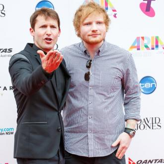 James Blunt makes Ed Sheeran his son's godfather